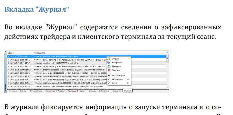 Полное руководство Metatrader 4